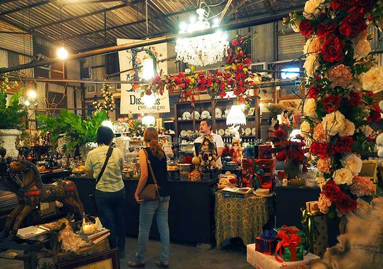 バンコク観光 チャンチューイ・クリエイティブパーク(Chang Chui Creative Park) ファンシーなカフェ