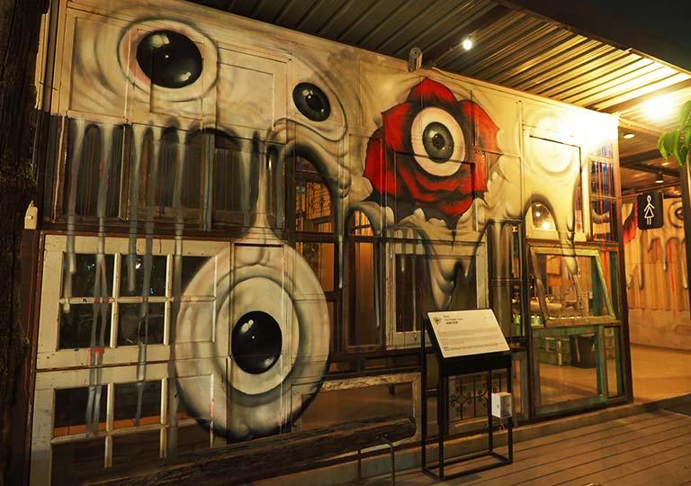 バンコク観光 チャンチューイ・クリエイティブパーク(Chang Chui Creative Park) トイレ