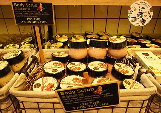 バンコク観光 チャトゥチャックウィークエンドマーケット(Chatuchak Weekend Market) フルーツスクラブ