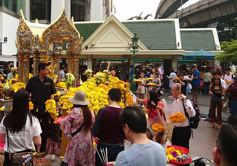 バンコク観光 エラワン廟 エラワン廟