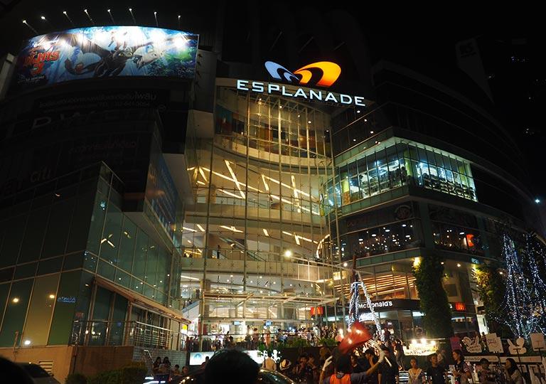 バンコク観光 エスプラネード(Esplanade)