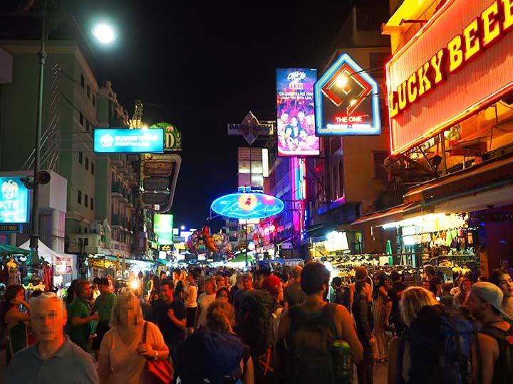 「カオサン通りの行き方と見どころ!バンコクでカオスな夜を楽しもう!」 トップ画像