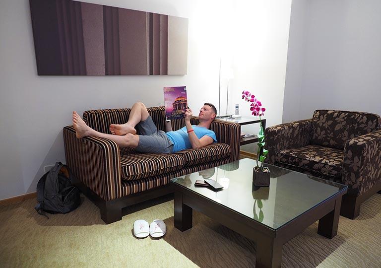 ホテル「ルブアアットステートタワー」の部屋の画像