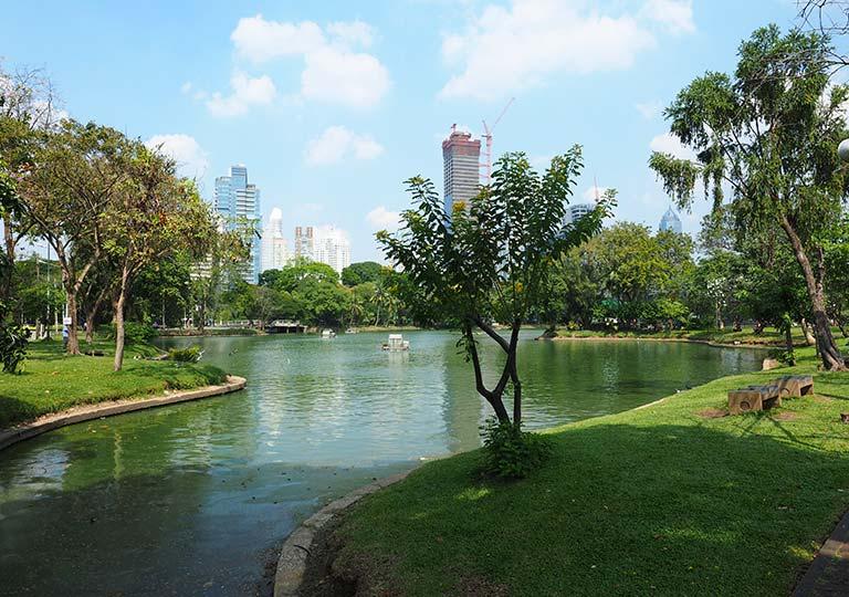 バンコク観光の穴場スポット ルンピニー公園(Lumpini Park)