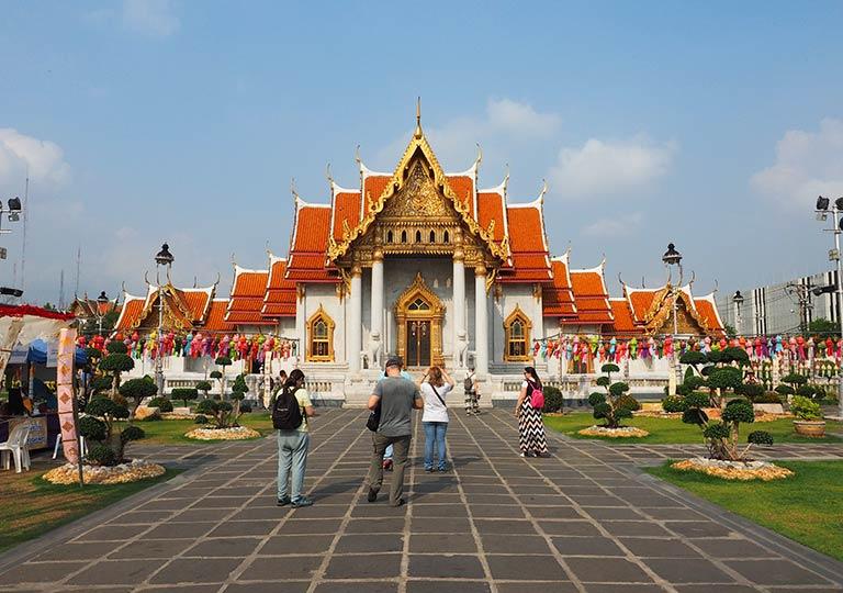 タイ・バンコク旅行で注意すべきこと 寺院でのマナー