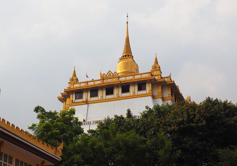 バンコク観光の穴場スポット ワットサケット(Wat Saket)