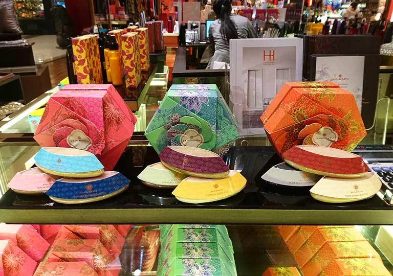 タイ・バンコクのおすすめお土産 コスメ・美容グッズ ハーン(HARNN)のスパグッズ