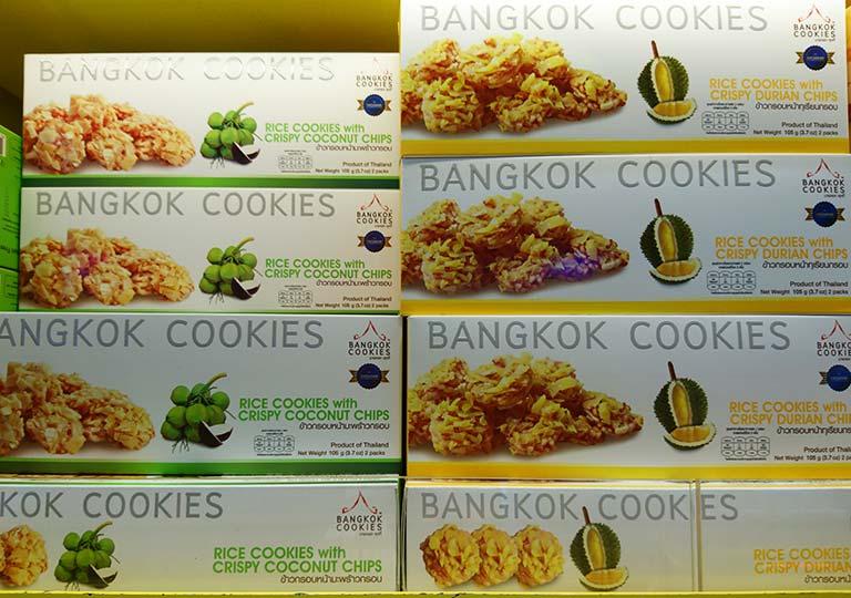 タイ・バンコクのおすすめお土産 お菓子 バンコククッキー