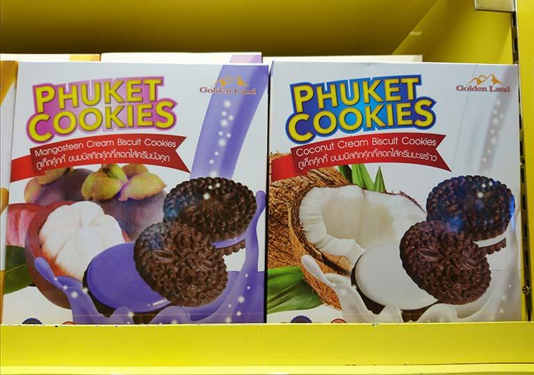 タイ・バンコクのおすすめお土産 お菓子 プーケットクッキーズ