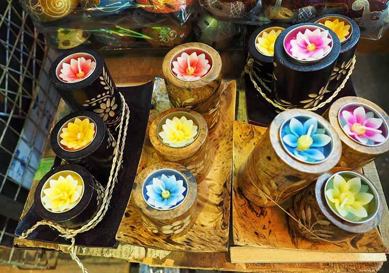 タイ・バンコクのおすすめお土産 雑貨 お香・キャンドル