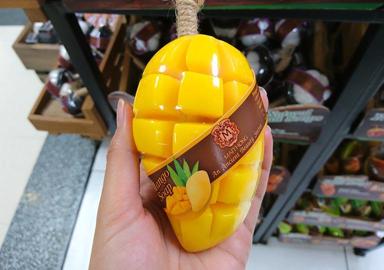 タイ・バンコクのおすすめお土産 雑貨 フルーツ石鹸