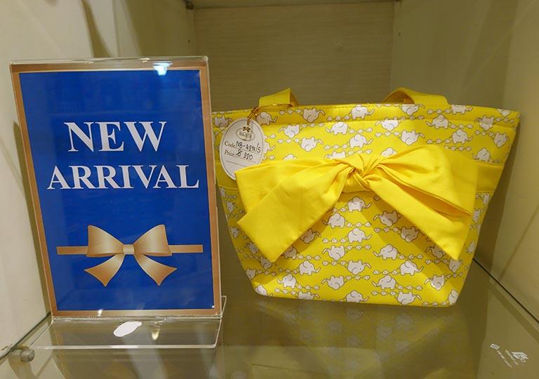 タイ・バンコクのおすすめお土産 雑貨 ナラヤのバッグ
