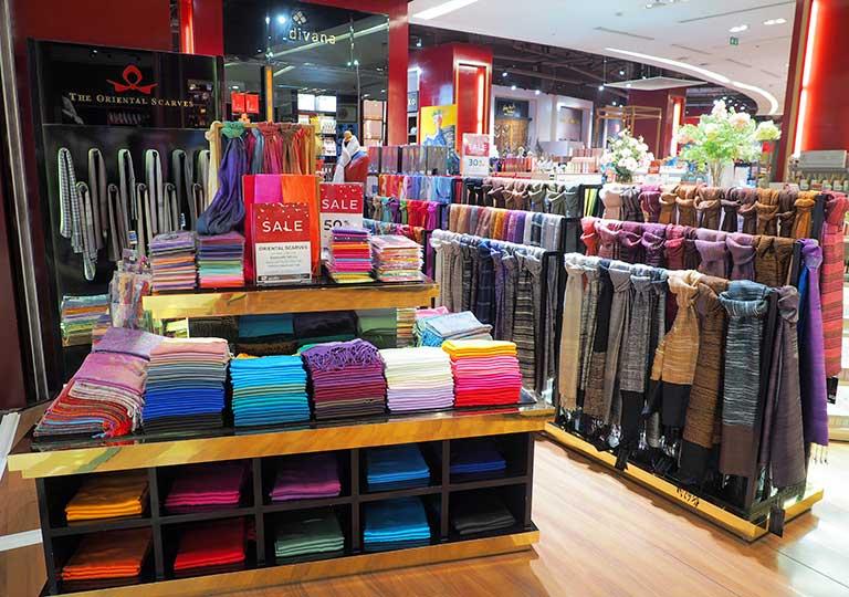 タイ・バンコクのおすすめお土産 雑貨 スカーフ