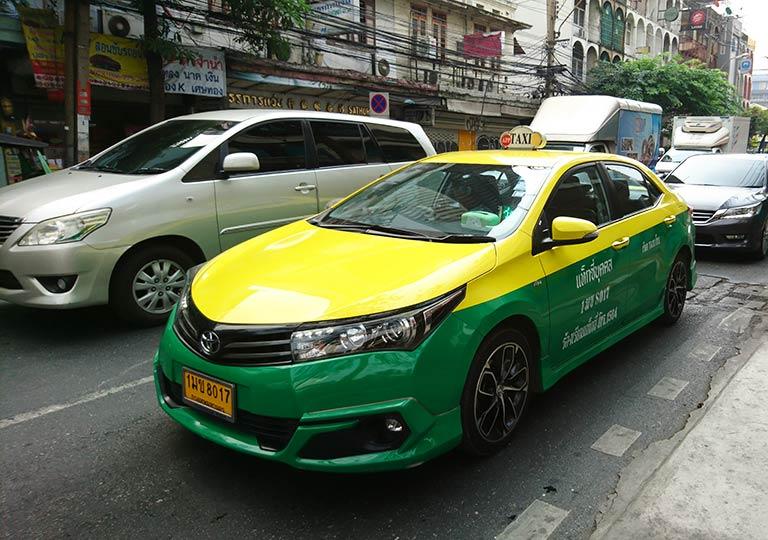 タイ・バンコク旅行で注意すべきこと タクシーのぼったくりに注意