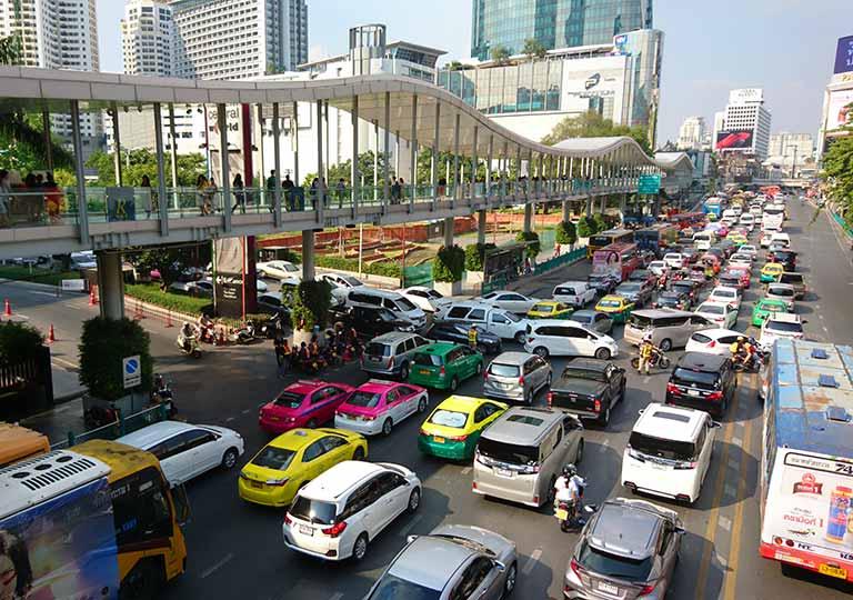 タイ・バンコク旅行で注意すべきこと 渋滞の画像