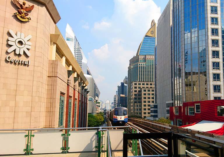 バンコク観光 BTSスカイトレイン