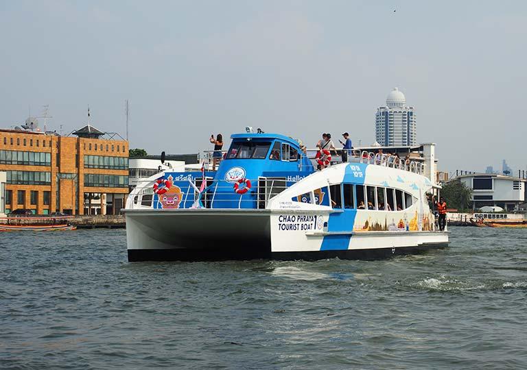 バンコク観光 チャオプラヤーツーリストボート