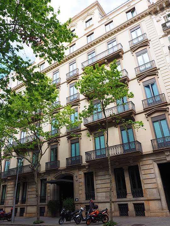 バルセロナ観光 グラシア通り周辺のホテル アルマ バルセロナ(Alma Barcelona)