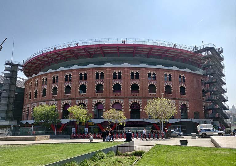 バルセロナ観光 アレナス デ バルセロナ(Arenas De Barcelona)