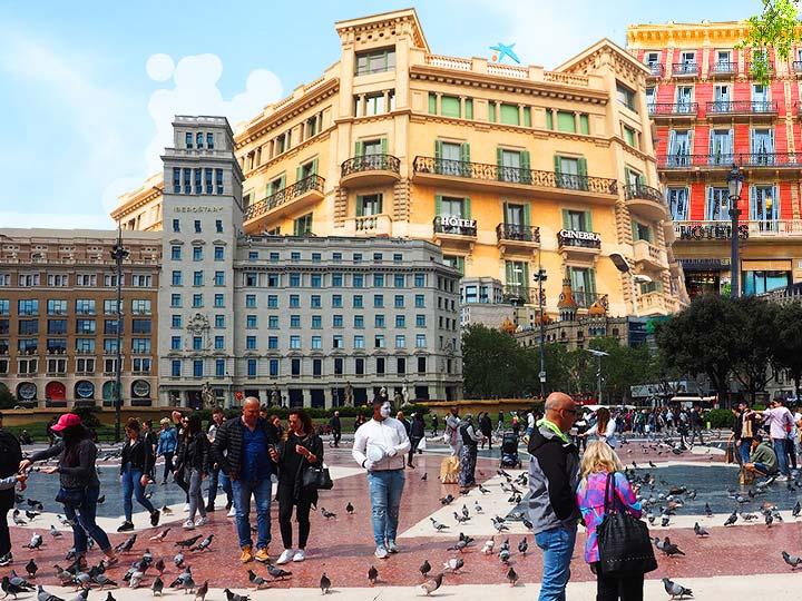 「立地最高!バルセロナ・カタルーニャ広場近くのおすすめホテル10選!」 トップ画像