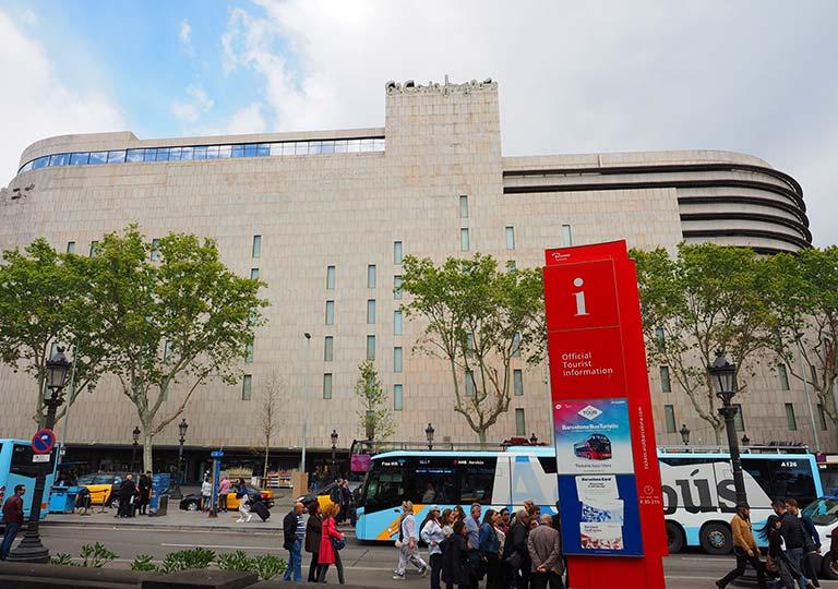 バルセロナ観光 エルコルテイングレス(El Corte Ingres)