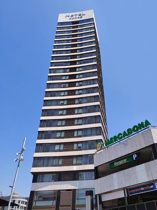 バルセロナ観光 サンツ駅周辺のホテル グラン ホテル トレ カタルーニャ(Gran Hotel Torre Catalunya)