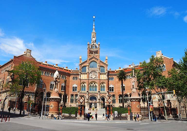 バルセロナ観光 サンパウ病院(Hospital de Sant Pau)