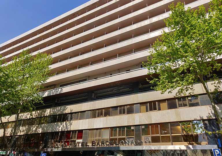 バルセロナ観光 サンツ駅周辺のホテル エキスポ ホテル バルセロナ(Expo Hotel Barcelona)