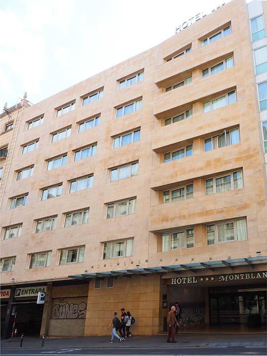 バルセロナ観光 カタルーニャ広場付近のホテル ホテルHCCモンブラン(Hotel HCC MontBlanc)