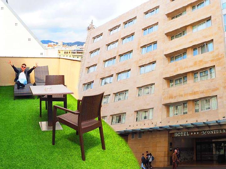 「バルセロナ・カタルーニャ広場近く!好立地なホテルHCCモンブラン宿泊記」 トップ画像