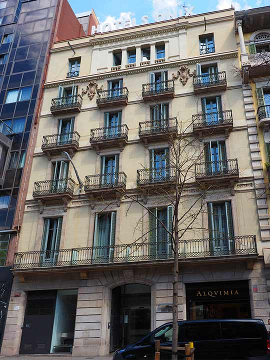バルセロナ観光 グラシア通り周辺のホテル オニックス ランブラ ホテル(Onix Rambla Hotel)