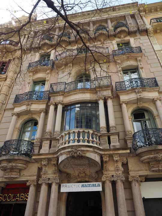 バルセロナ観光 グラシア通り(アシャンプラ地区)周辺のホテル ホテル プラクティーク ランブラ(Hotel Praktik Rambla)