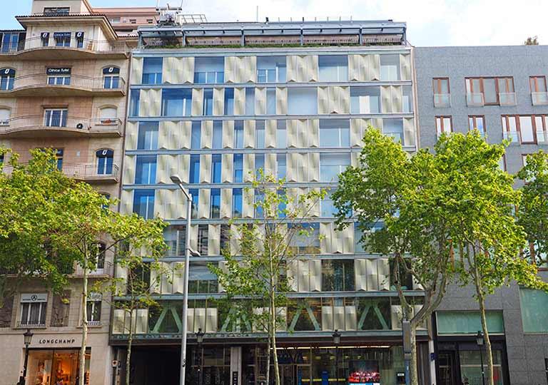 バルセロナ観光 グラシア通り(アシャンプラ地区)周辺のホテル ホテル ロイヤル パッセージ デ グラシア(Hotel Royal Passeig de Gracia)