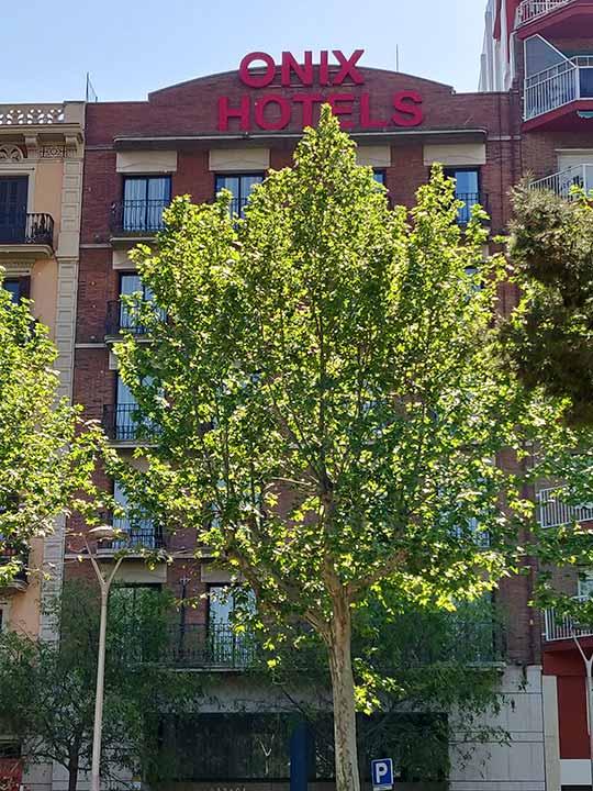 バルセロナ観光 サンツ駅周辺ホテル ホテル オニックス フィラ(Onix Fira)