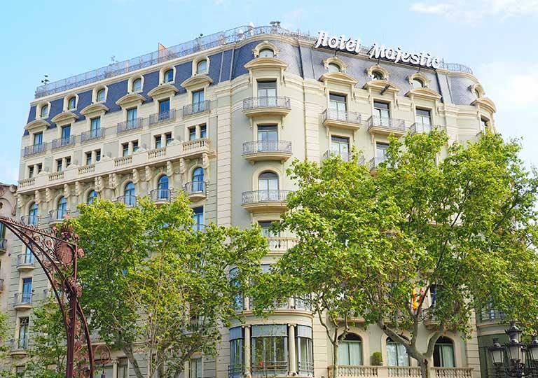 バルセロナ観光 グラシア通り周辺のホテル マジェスティック ホテル & スパ バルセロナ(Majestic Hotel & Spa Barcelona)