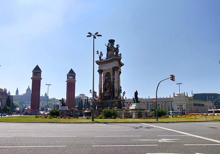 バルセロナ観光 スペイン広場(Espanya Plaza)