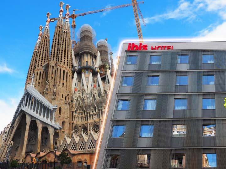 「バルセロナ・サグラダファミリアが徒歩圏内のおすすめホテル8選!」 トップ画像