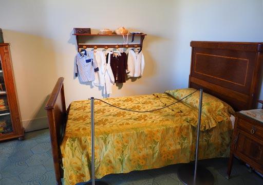バルセロナ観光 カサミラ(Casa Milà)の住居スペース 子供部屋