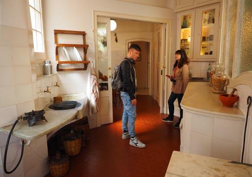 バルセロナ観光 カサミラ(Casa Milà)の住居スペース キッチン