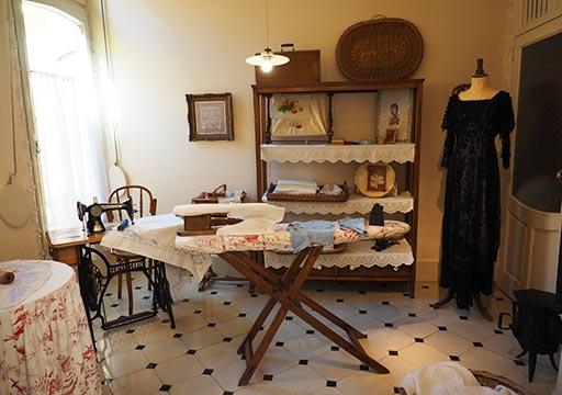 バルセロナ観光 カサミラ(Casa Milà)の住居スペース 使用人の部屋