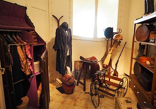 バルセロナ観光 カサミラ(Casa Milà)の住居スペース 馬具置き場