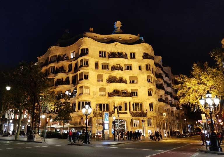 バルセロナ観光 カサミラ(Casa Mil) チケットの種類