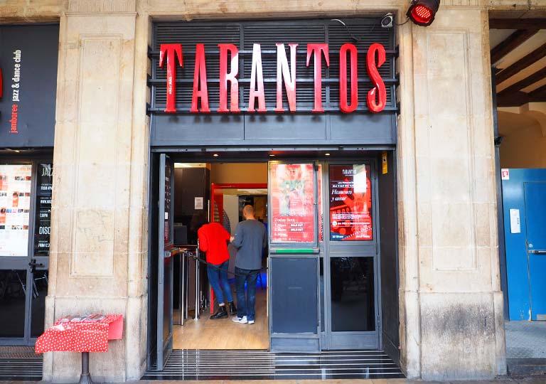 バルセロナ観光 フラメンコショー ロス タラントス(Los Tarantos)