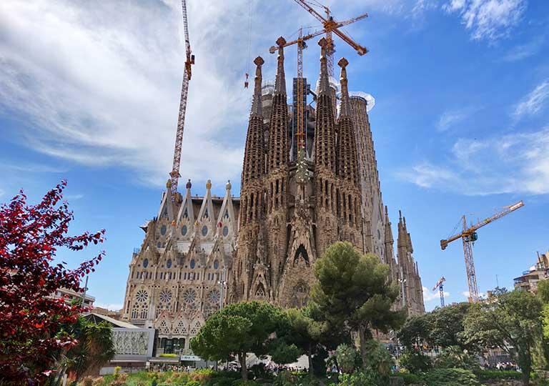 バルセロナ観光 おすすめ観光地・モデルコース サグラダファミリア(Sagrada Família)