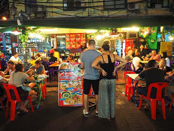 「バンコクのカオサン通り周辺グルメ!安いけど激うまなレストランをご紹介!」 トップ画像