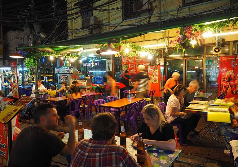 バンコク観光 カオサン通り周辺のグルメ I Love Thai Food