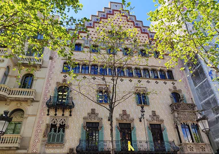 バルセロナ観光 お土産が買えるオススメの場所 カサ アマトリェール( Casa Amatller)