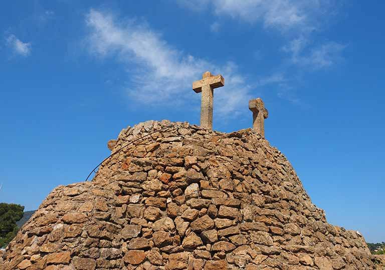 バルセロナ観光 グエル公園(Park Güell) 見どころ⑧カルヴァリーの丘