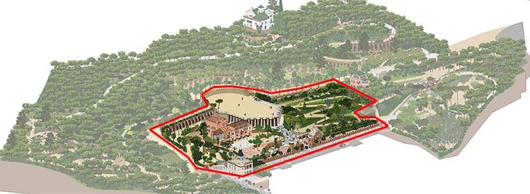 バルセロナ観光 グエル公園(Park Güell) 有料ゾーン