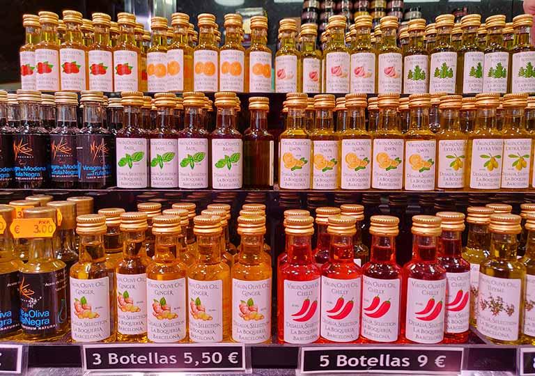 バルセロナ観光 おすすめのお土産 オリーブオイル